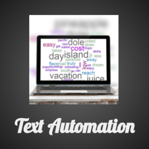 Text Automation white